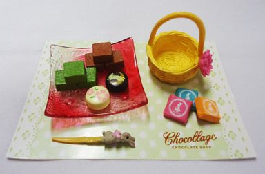 5.季節の和チョコ 「ぷちサンプルシリーズ82 チョコレートショップ」