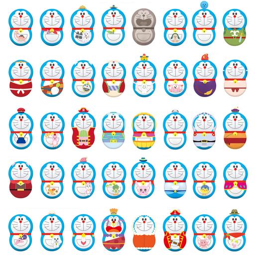 バンダイ 新品 食玩 トレーディングフィギュア 【パック】クーナッツ ドラえもん DORAEMON THE MOVIE 40 FILMS