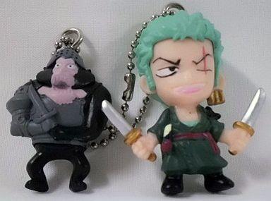 ゾロ&ヒューマンドリル ワンピース Wマスコットキーチェーン3 <食玩>