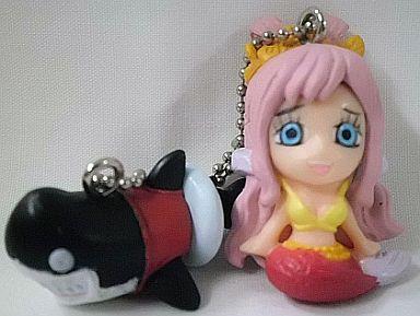 しらほし姫&メガロ ワンピース Wマスコットキーチェーン3