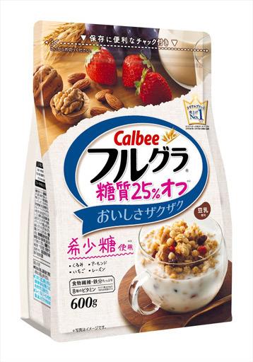 【新品】お菓子 その他 フルグラ 糖質25%オフ 600g