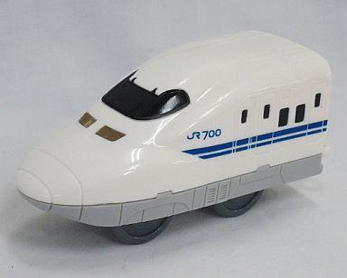 【中古】ハッピーセット 700系新幹線B7編成/駅名ラベルつき車両 「プラレール」 ハッピーセット