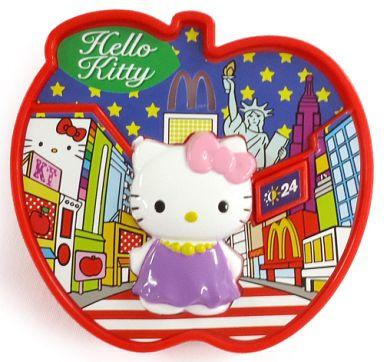 【中古】ハッピーセット ニューヨーク キティ型小物入れ&ミニブック 「ハローキティ」 ハッピーセット