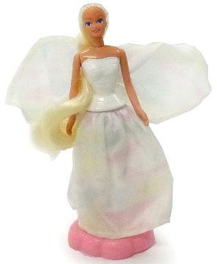 【中古】ハッピーセット ANGEL PRINCESS BARBIE-エンジェルプリンセスバービー- 「バービーとミニカー(1997年)」 ハッピーセット
