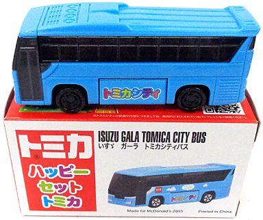 【中古】ハッピーセット いすゞ ガーラ トミカシティバス 「トミカ」 ハッピーセット