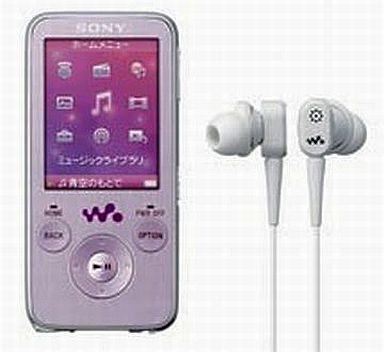 【中古】ポータブルオーディオ ウォークマン NW-S738F PI (8GB/ピンク)