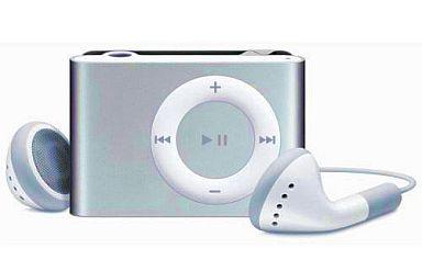 【中古】ポータブルオーディオ iPod shuffle 1GB (シルバー) [MA564J/A]