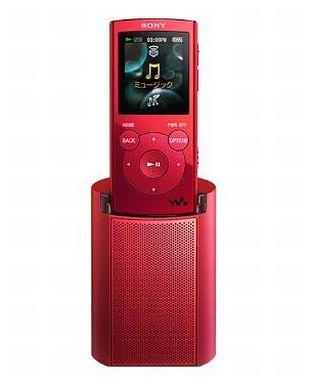 【中古】ポータブルオーディオ ウォークマン Eシリーズ [メモリータイプ] 2GB (レッド) [NW-E062K(R)]