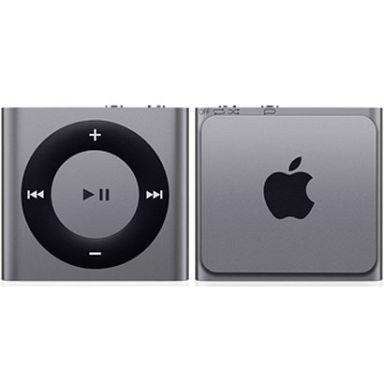 【中古】ポータブルオーディオ iPod shuffle 2GB (スペースグレイ) [ME949J/A]
