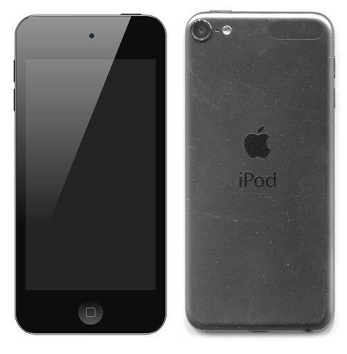 【中古】ポータブルオーディオ iPod touch 16GB スペースグレイ [MKH62J/A]