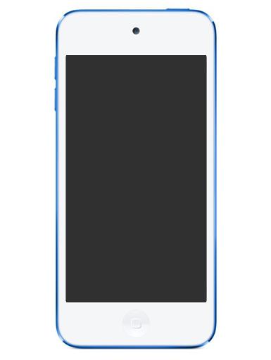 【中古】ポータブルオーディオ iPod touch 16GB ブルー [MKH22J/A]