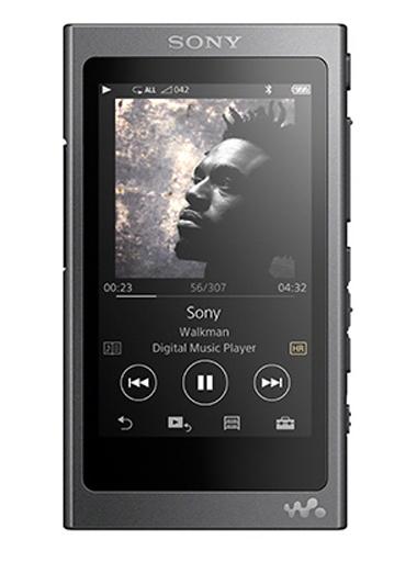 【中古】ポータブルオーディオ ウォークマンAシリーズ 16GB チャコール・ブラック[NW-A35(B)]
