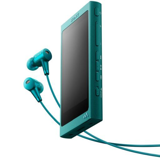 【中古】ポータブルオーディオ ウォークマン Aシリーズ 16GB (ビリジアンブルー) [NW-A35HN(L)]