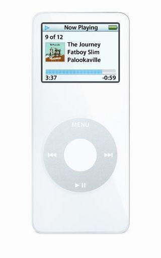 【中古】ポータブルオーディオ 海外版 iPod nano 2GB (ホワイト) [MA004LL/A]