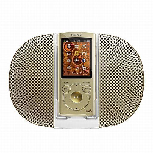 【中古】ポータブルオーディオ ウォークマン Sシリーズ スピーカー付属モデル 8GB (ゴールド) [NW-S764K(N)]