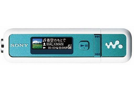 【中古】ポータブルオーディオ ウォークマン 2GB (オーシャンブルー/フォレストグリーン) [NW-E025F(LG)] (状態:各付属品欠/本体状態難※詳細は商品説明を御覧下さい)