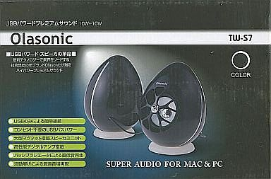 【中古】スピーカー USBスピーカーバスパワー10W+10W Olasonic (ブラック)