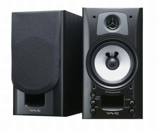 【中古】スピーカー ONKYO パワードスピーカーシステム WAVIO (ブラック) [GX-70HD(B)]