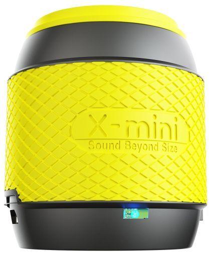【新品】スピーカー エックスミニ X-mini ME サムサイズ ポータブル 超小型 スピーカー ガンメタルイエロー [XAM16-GMY]