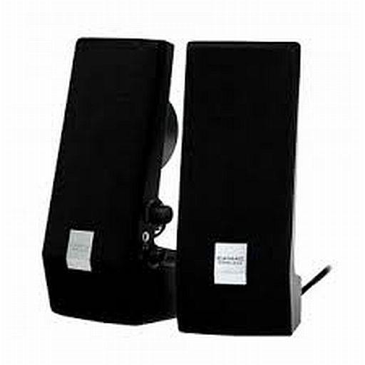 【中古】スピーカー CAMAC マルチメディアコンピュータースピーカー (ブラック) [CMK-858]