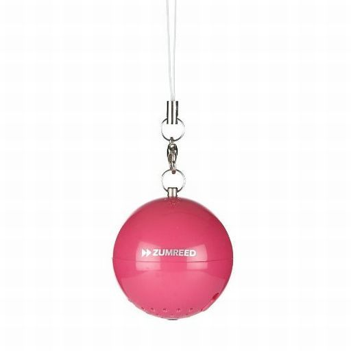 【中古】スピーカー ZUMREED ポータブルスピーカー Sound Ball (ピンク) [ZUM-80151]