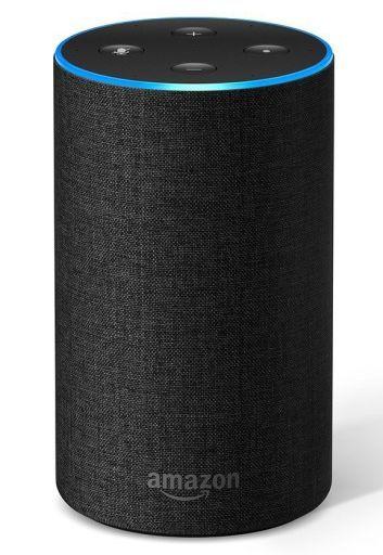 【中古】スピーカー スマートスピーカー Amazon Echo 第2世代 (チャコール/ファブリック)