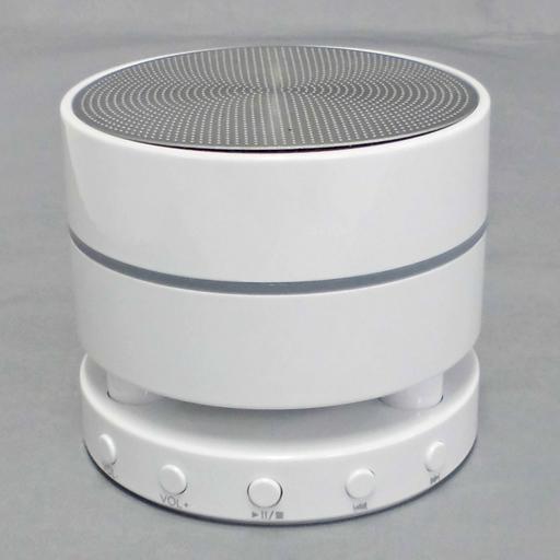 【中古】スピーカー サンワサプライ Bluetooth4.0対応 ポータブルスピーカー (ホワイト) [400-SP040W]