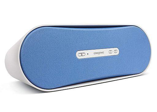 【中古】スピーカー ワイヤレススピーカー Creative D100 (ブルー) [SP-D100-BL](状態:箱(内箱含む)・説明書欠品、本体状態難)