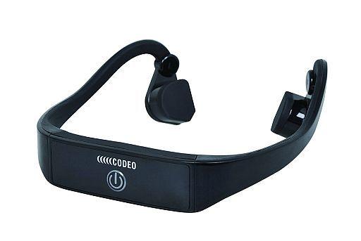 【中古】ヘッドフォン CODEO 骨伝導スピーカー[BTL-G001](状態:調整ベルト欠品)