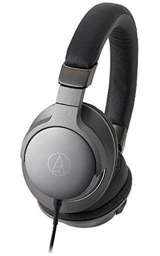 【中古】ヘッドフォン audio-technica ポータブルヘッドホン (スティールブラック) [ATH-AR5-BK]
