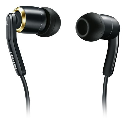 Philips High res compatible in-ear headphones (black) [SHE9730BK]