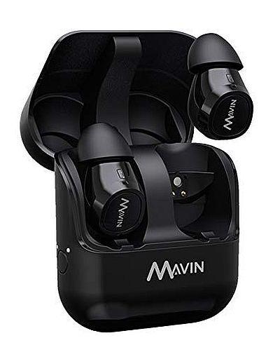 Cresco Wireless MAVIN Complete Wireless Earphone Air-X (Black) [AIR-X / BK]
