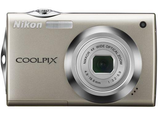 【中古】カメラ デジタルカメラ COOLPIX S4000 1200万画素 (シャイニーシルバー) [S4000SL]
