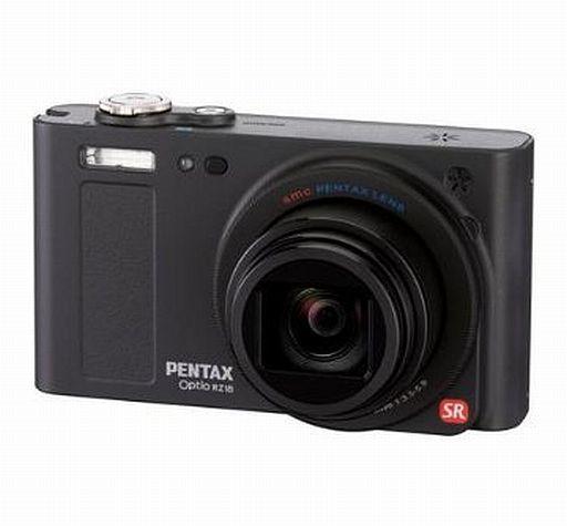 【中古】カメラ デジタルカメラ Optio RZ18 1600万画素 (ブラック) [OPTIORZ18BK]