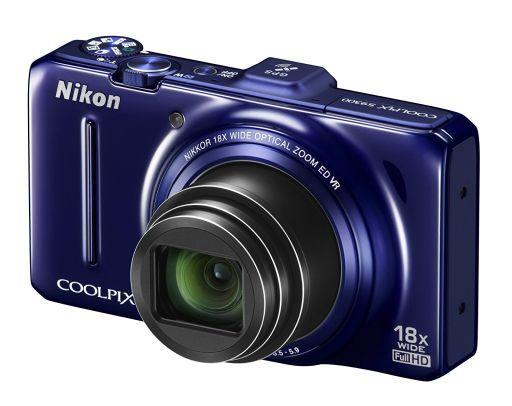 【中古】カメラ デジタルカメラ COOLPIX S9300 1600万画素 (ネイビーブルー) [S9300BL] (状態:本体状態難)