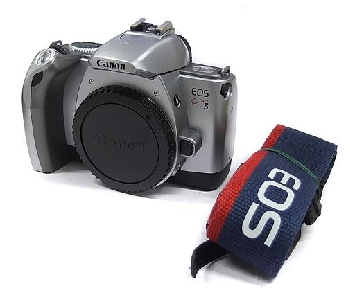 【中古】カメラ 35mmシャッター式一眼レフカメラ EOS Kiss 5 (ボディ) (状態:本体のみ)