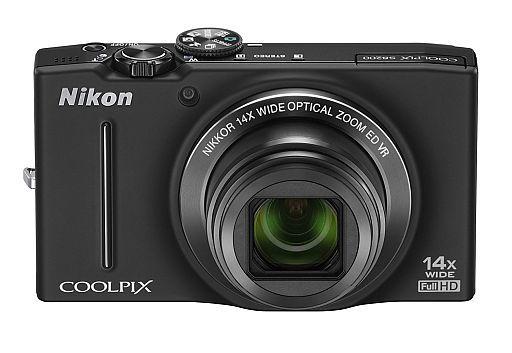 【中古】カメラ デジタルカメラ COOLPIX S8200 1610万画素 (ノーブルブラック) [S8200BK]