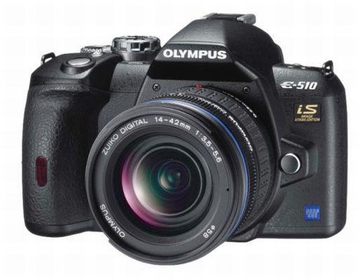 【中古】カメラ OLYMPUS デジタル一眼レフカメラ E-510ダブルズームキット