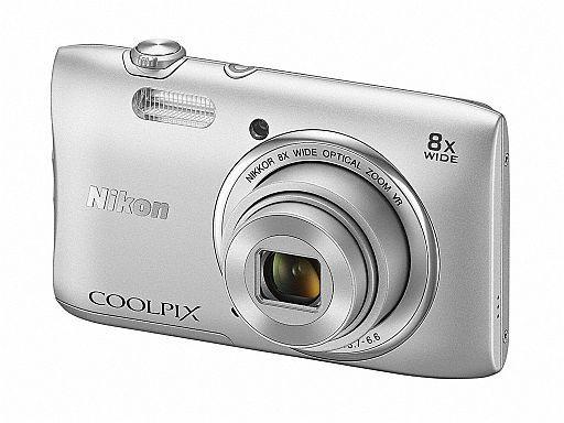 【中古】カメラ デジタルカメラ COOLPIX S3600 2005万画素 (クリスタルシルバー) [S3600SL]