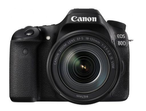 【中古】カメラ Canon デジタル一眼レフカメラ EOS 80D レンズキット EF-S18-135mm F3.5-5.6 IS USM付属 [EOS80D18135ISUSMLK]