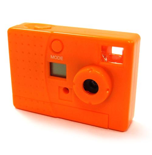 【中古】カメラ レッドスパイス トイデジカメ 30万画素 (オレンジ) [LT-DC102OR]