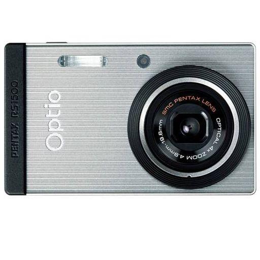 【中古】カメラ PENTAX デジタルカメラ OPTIO RS1500 1400万画素 (シルバー) [RS1500] (状態:箱欠品)