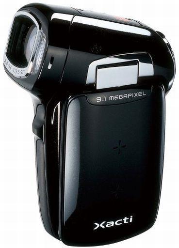 【中古】カメラ サンヨー デジタルムービーカメラ Xacti CG9 910万画素 (ブラック) [DMX-XG9(K)]