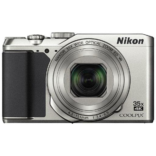 【中古】カメラ Nikon コンパクトデジタルカメラ COOLPIX A900 2029万画素 (シルバー) [A900SL]