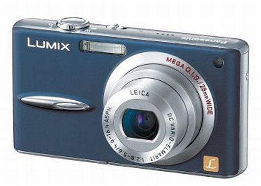【中古】カメラ パナソニック デジタルカメラ LUMIX FX30 720万画素 (ブルー) [DMC-FX30-A]