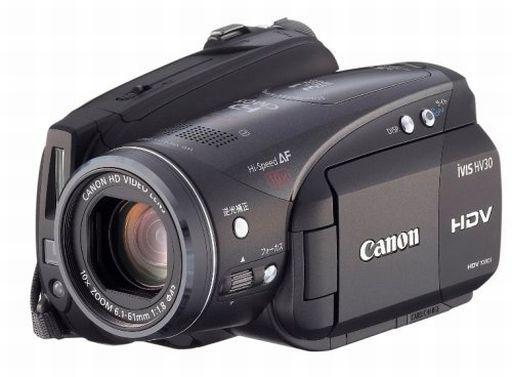 【中古】カメラ CANON デジタルビデオカメラ iVIS HV30 [2679B001] (状態:各種付属品欠品※詳細は商品説明を御覧下さい)