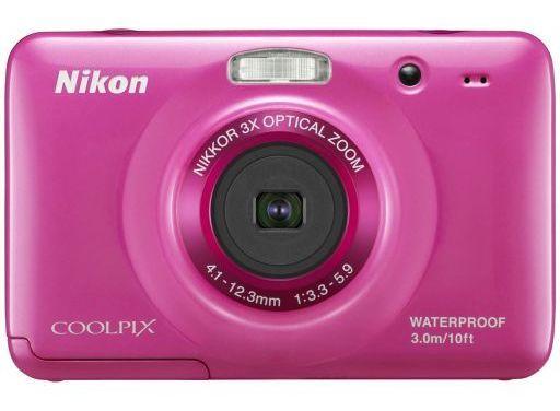 【中古】カメラ NIKON デジタルカメラ COOLPIX S30 1014万画素 (ピンク) [S30PK]