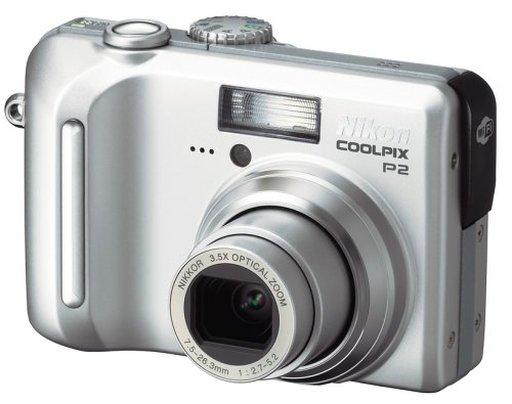 【中古】カメラ Nikon デジタルカメラ COOLPIX P2 510万画素 [P2]