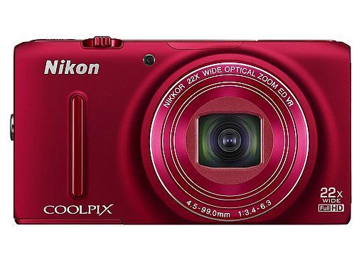 【中古】カメラ Nikon デジタルカメラ COOLPIX S9500 1811万画素 (ヴェルヴェットレッド) [S9500RD]