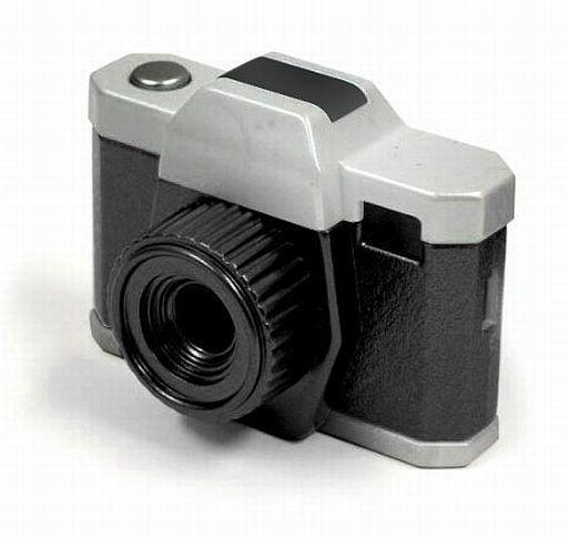 【中古】カメラ レッドワークス トイデジカメ 30万画素 (ブラック/シルバー) [HE-003BJ]